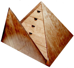 Ferland Woodworking Co., Inc - Pyramid Shaped Jewelry Box